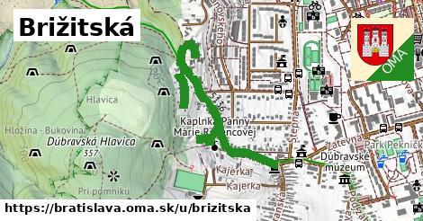 ilustračný obrázok k Brižitská, Bratislava