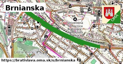 ilustrácia k Brnianska, Bratislava - 2,6km
