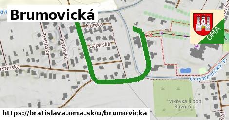 ilustračný obrázok k Brumovická, Bratislava