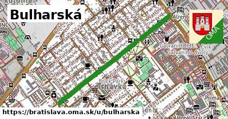 ilustračný obrázok k Bulharská, Bratislava
