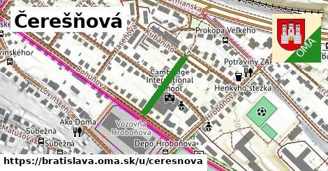 ilustrácia k Čerešňová, Bratislava - 161m