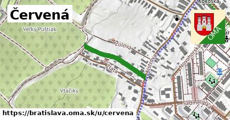 ilustrácia k Červená, Bratislava - 229m