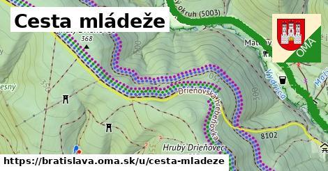 ilustrácia k Cesta mládeže, Bratislava - 8,7km