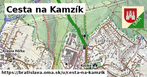 ilustračný obrázok k Cesta na Kamzík, Bratislava