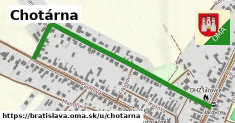 ilustračný obrázok k Chotárna, Bratislava