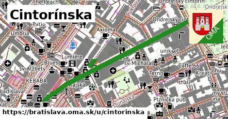 ilustrácia k Cintorínska, Bratislava - 541m