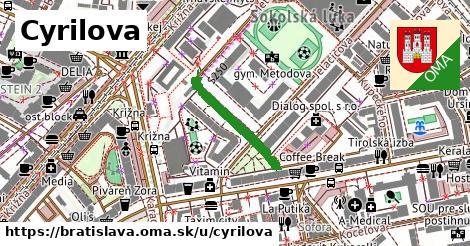 ilustračný obrázok k Cyrilova, Bratislava