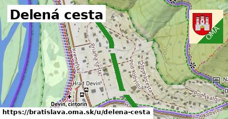 ilustrácia k Delená cesta, Bratislava - 291m
