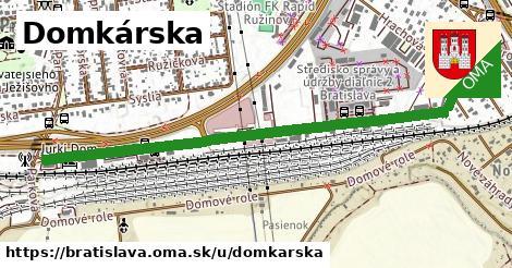 ilustrácia k Domkárska, Bratislava - 1,29km