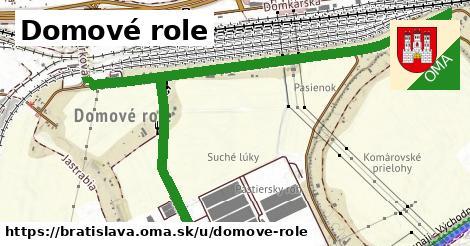 ilustrácia k Domové role, Bratislava - 2,2km