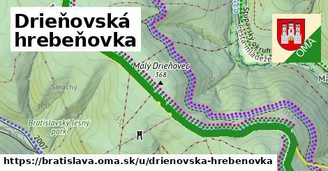 ilustrácia k Drieňovská hrebeňovka, Bratislava - 4,8km