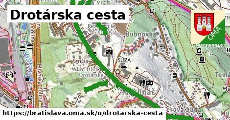 ilustrácia k Drotárska cesta, Bratislava - 1,69km