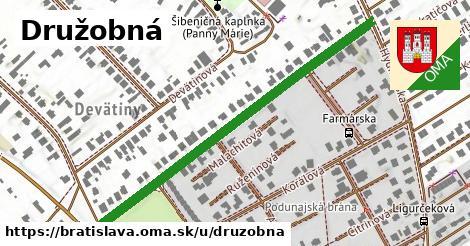 ilustračný obrázok k Družobná, Bratislava