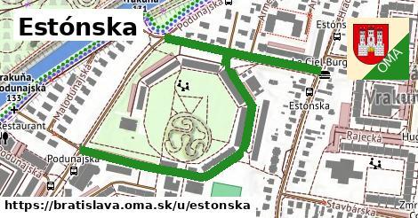 ilustrácia k Estónska, Bratislava - 0,79km