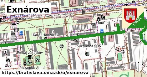 ilustrácia k Exnárova, Bratislava - 0,99km