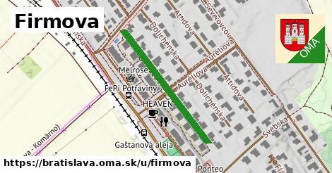 ilustračný obrázok k Firmova, Bratislava