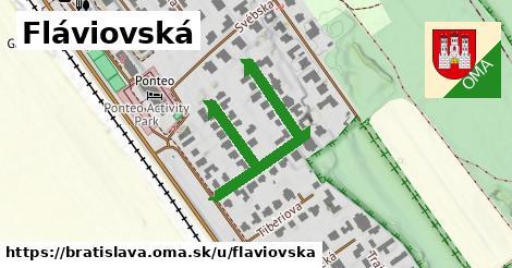 ilustračný obrázok k Fláviovska, Bratislava