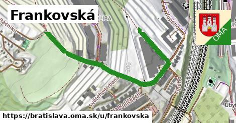 ilustrácia k Frankovská, Bratislava - 629m