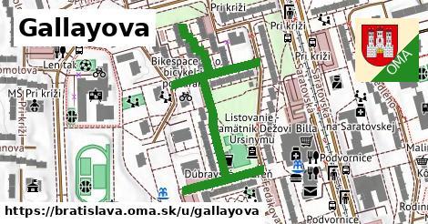 ilustračný obrázok k Gallayova, Bratislava