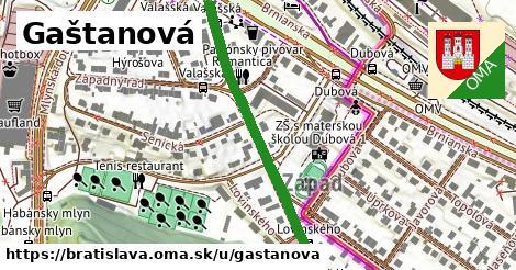 ilustrácia k Gaštanová, Bratislava - 456m