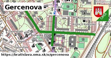 ilustračný obrázok k Gercenova, Bratislava