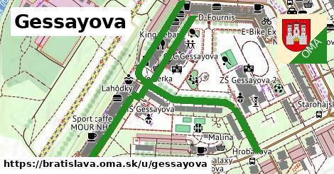 ilustračný obrázok k Gessayova, Bratislava
