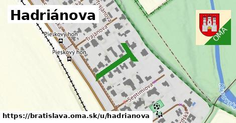 ilustračný obrázok k Hadriánova, Bratislava