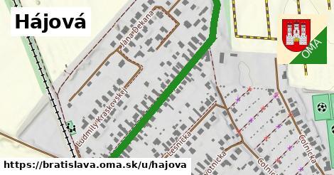 ilustrácia k Hájová, Bratislava - 525m