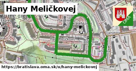 ilustrácia k Hany Meličkovej, Bratislava - 1,33km