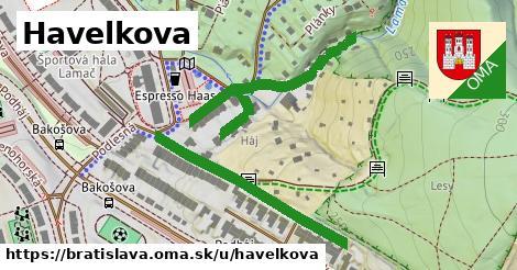 ilustračný obrázok k Havelkova, Bratislava