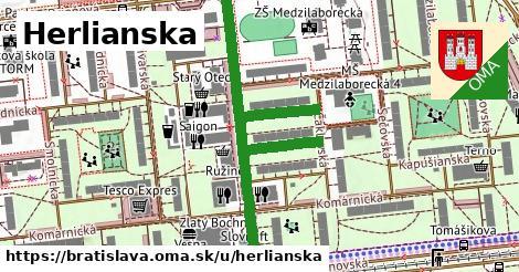 ilustrácia k Herlianska, Bratislava - 660m