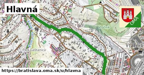 ilustračný obrázok k Hlavná, Bratislava