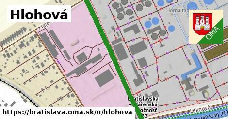 ilustračný obrázok k Hlohová, Bratislava
