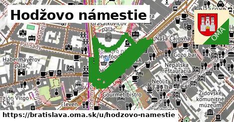 ilustrácia k Hodžovo námestie, Bratislava - 1,22km
