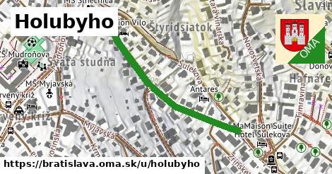 ilustrácia k Holubyho, Bratislava - 432m