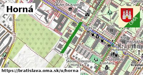 ilustrácia k Horná, Bratislava - 193m