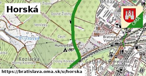 ilustrácia k Horská, Bratislava - 2,9km