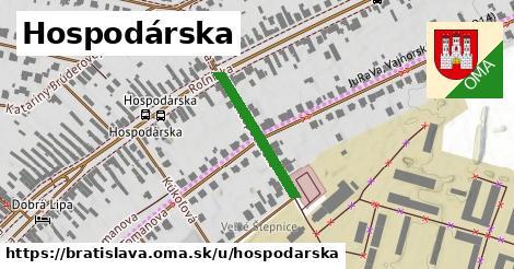 ilustrácia k Hospodárska, Bratislava - 213m