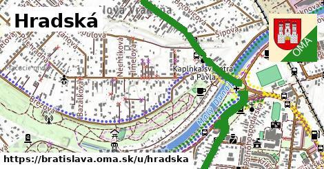 ilustrácia k Hradská, Bratislava - 3,1km