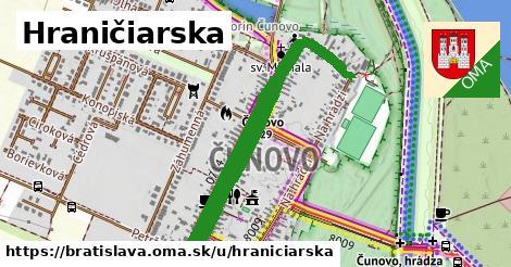 ilustračný obrázok k Hraničiarska, Bratislava