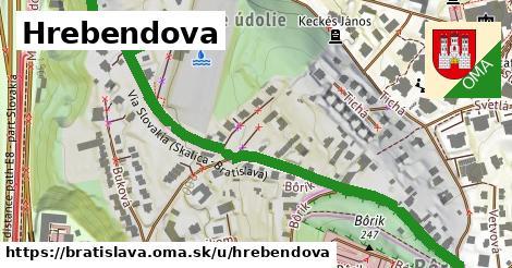 ilustračný obrázok k Hrebendova, Bratislava