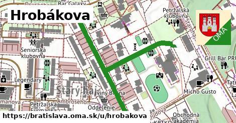 ilustračný obrázok k Hrobákova, Bratislava