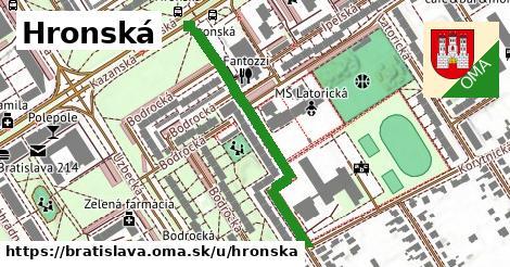 ilustrácia k Hronská, Bratislava - 406m