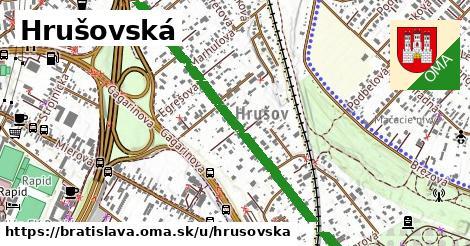 ilustračný obrázok k Hrušovská, Bratislava