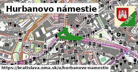 ilustračný obrázok k Hurbanovo námestie, Bratislava
