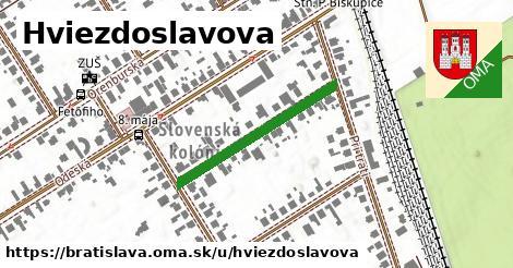ilustračný obrázok k Hviezdoslavova, Bratislava