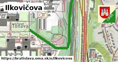 ilustračný obrázok k Ilkovičova, Bratislava