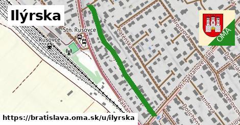 ilustračný obrázok k Ilýrska, Bratislava