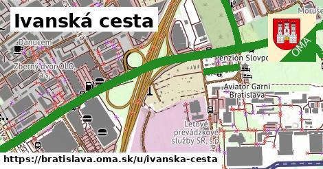 ilustrácia k Ivanská cesta, Bratislava - 5,1km