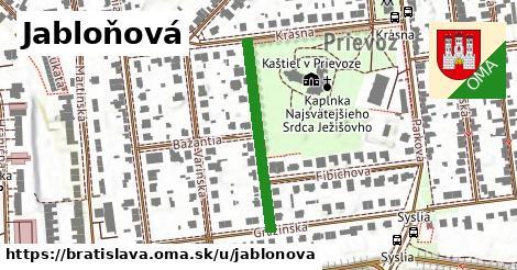 ilustrácia k Jabloňová, Bratislava - 282m